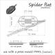 Кормушка Life Orange Method Spider Flat