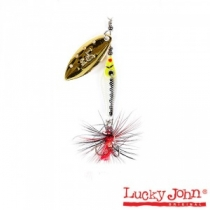 Блесна Lucky John  Trian Blade Long 09 #04