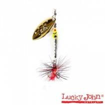 Блесна Lucky John  Trian Blade Long 09 #04