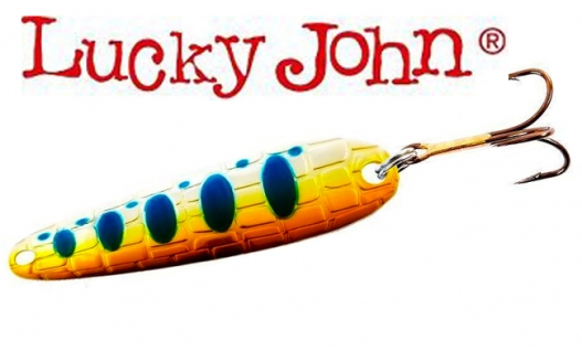 Блесна Lucky John CROCO SPOON BIG GAME MISSION 18.0g