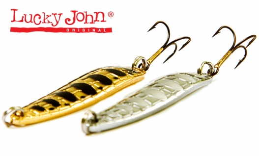 Блесна Lucky John Croco Spoon 14г