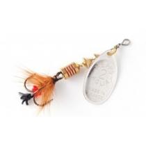 Блесна Mepps AGLIA MOUCHE 0 2.5g #Gold Red Fly