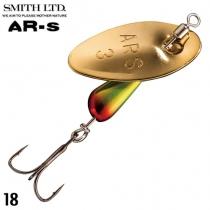 Блесна Smith AR Spinner Trout Model 2.1g #18 CRWN