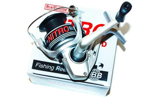 Катушка Bratfishing NITRO FD 4п