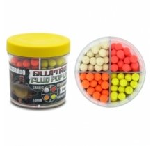 Бойлы Haldorado Quatro Fluo Pop Up Boilies