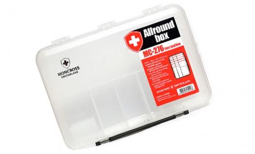 Коробка для приманок MONCROSS MC-276 Clear
