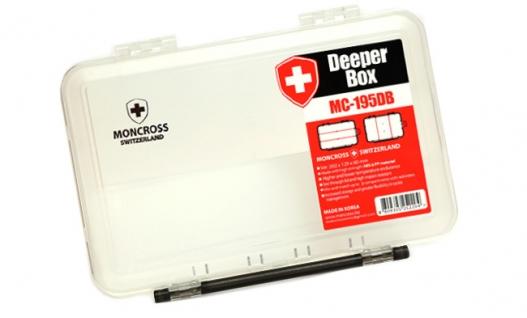 Коробка для приманок MONCROSS MC-195DB Clear