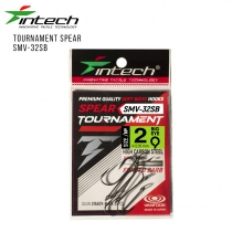 Крючки одинарний Intech Tournament Spear SMV-32SB #04