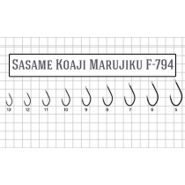Крючки Sasame Koaji Marujiku F-794 #10