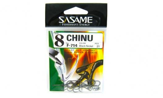 Крючки SASAME F-714 Chinu
