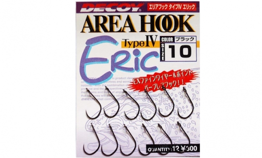 Крючки Decoy Area Hook IV Eric