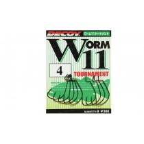 Крючки Decoy Worm11 Tournament #1