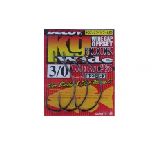 Крючки Decoy Worm25 Hook Wide