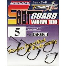 Крючки Decoy Worm100 Shot Guard #5