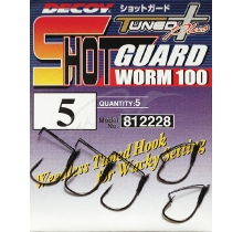 Крючки Decoy Worm100 Shot Guard