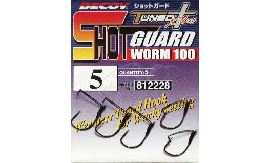 Крючки Decoy Worm100 Shot Guard