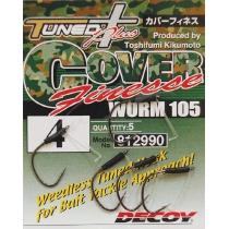 Крючки Decoy Worm105 Cover Finesse #2/0