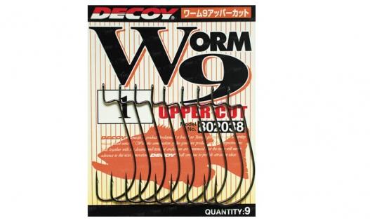 Крючки офсетные  Decoy Worm25 Hook Wide