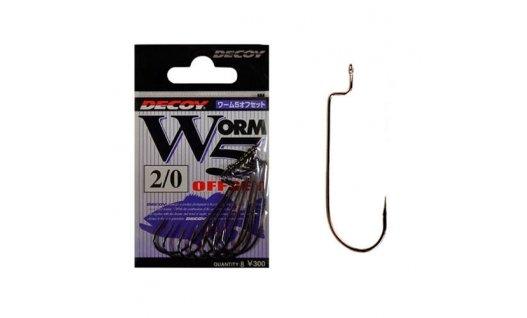 Крючки Decoy Worm5 Offset