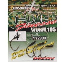 Крючки Decoy Worm105 Cover Finesse