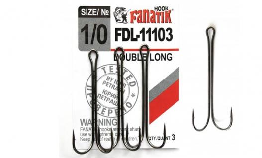 Крючки Fanatik FD-11103 Двійник