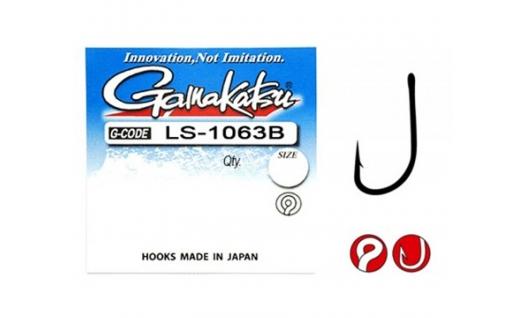 Крючки Gamakatsu LS-1063B - 10шт.