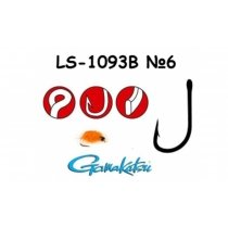 Крючки Gamakatsu  G-Hard Neo LS-1093B 25шт. #4