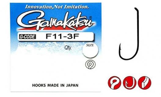Крючки Gamakatsu F11-3F-10шт