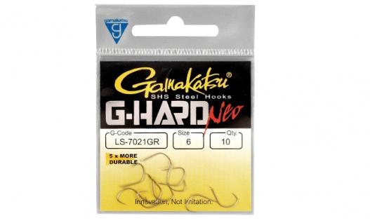 Крючки Gamakatsu  G-Hard Neo LS-7010B