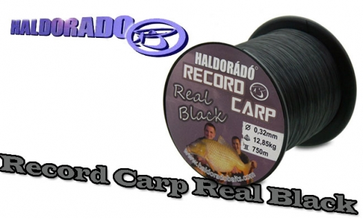 Леска Haldorado Record Carp Real Black 750m