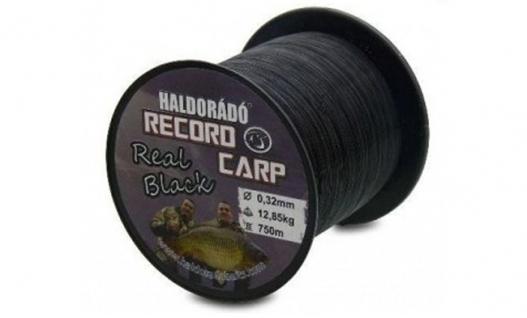 Леска  Волосінь Haldorado Record Carp Real Black 800m