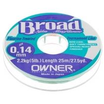 Леска Owner Broad 25m 0.18mm