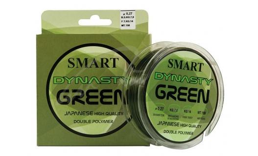 Леска Smart DYNASTY GREEN 150m
