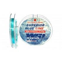 Леска Winter Star WS Superior Blue Line 30м #0.095мм