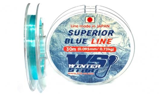 Леска Winter Star WS Superior Blue Line 30м