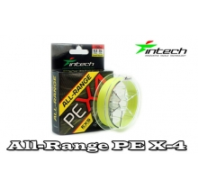 Шнур плетений Intech All-Range PE X-4