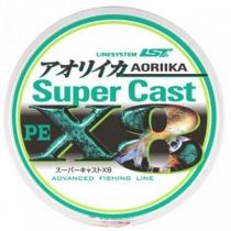 Шнур LineSystem Super Cast X8 PE1.0 16.5lb