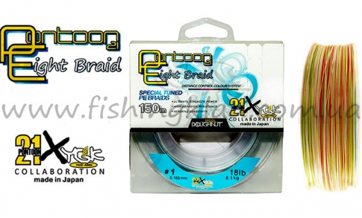 Шнур Pontoon 21 Eight Braid X8 #1.5