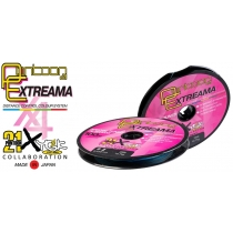 Шнур Pontoon 21 Extreama Multicolor X4 100m #0.8 0.148mm 5.4kg 12lb
