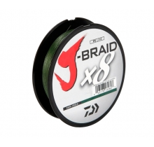 Шнур Daiwa J-Braid x8 Dark Green 150м