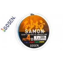 Шнур плетений GOSEN SAMON PE x4 200m #0.8