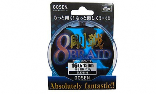 Шнур плетений GOSEN 8 BRAID ABSOLUTELY FANTASTIC