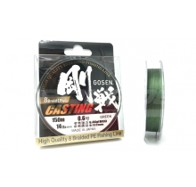 Шнур плетений GOSEN CASTING 8 BRAID GREEN