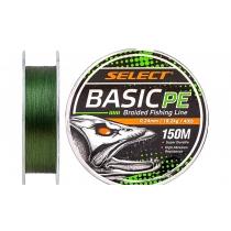 Select Basic PE 150m (темн-зел.) 0.08mm 8LB/4kg