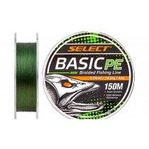 Шнур Select Basic PE 150m (темн-зел.) 0.10mm 10LB/4.8kg