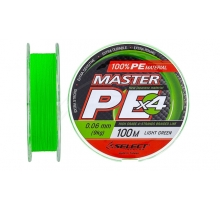 Шнур Select Master PE 100m (салат.)