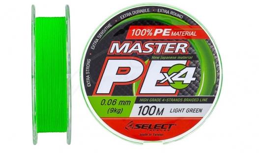 Шнур Select Master PE 150m (Салатовый) купить в магазине fishingklad.com.ua. Характеристики, фото, отзывы