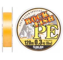Шнур Sunline Rock Fish PE #0.3