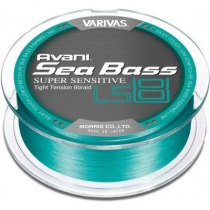 Шнур плетений VARIVAS SEABASS PE LS 8 #1.0