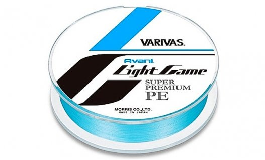 Шнур плетений VARIVAS NEW AVANI LIGHT GAME SUPER #0.4